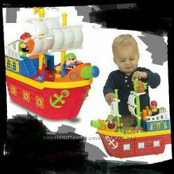 Игровой набор Пиратский корабль свет, звук, Kiddieland