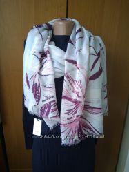 Брендовый тонкий большой шарф пантин Linea Англия