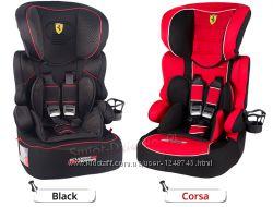 Автокресло автокрісло Ferrari Beline Black 9-36 Франция новое