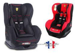 Автокресло Ferrari Cosmo Black Red 0-18кг Франция новое