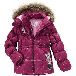 Зимняя удлиненная куртка Topolino Германия с Minnie Maus серии Disney
