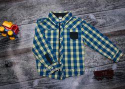 Рубашки с коротким и длинным рукавом на 1-6 года