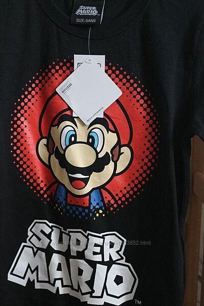 Футболка Super Mario 5-6 лет 110-116 см