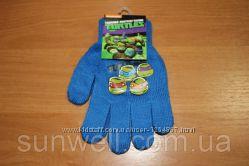 Перчатки для мальчиков черепашки ниндзя, 16см