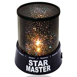 Лампа - ночник, проектор звёздного неба, star master