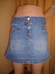 Джинсовая юбка Fcuk Jeans р. 48
