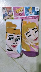 Набор теплых носочков на девочку с принцессами дисней