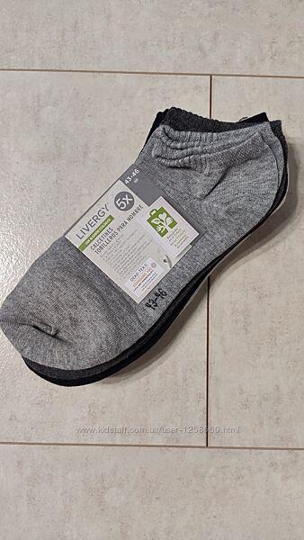 Хлопковые мужские носки, набор 5 пар
