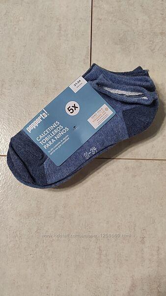 Хлопковые носки на мальчика, набор 5 пар