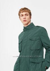 Куртка ветровка непромокаемая Mango