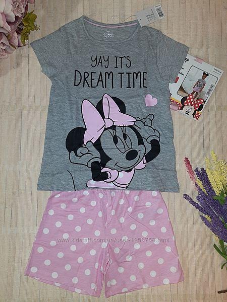 Пижама / домашний костюм с минни маус с minnie mouse 110/116