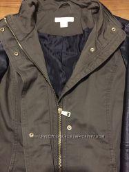 Куртка хаки марки Н&M