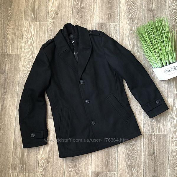 Шерстяное пальто итальянского бренда maddison на размер S-М