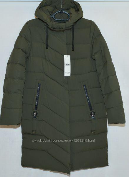 Куртка пальто женская зима KSA