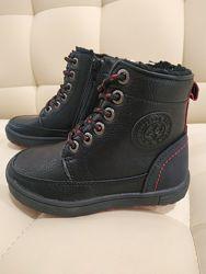 Черные ботинки Cool Club26,27,28,29,30,31,32,35,36