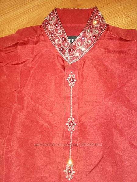 Индийский костюм рубашка туника мужская р. 48,
