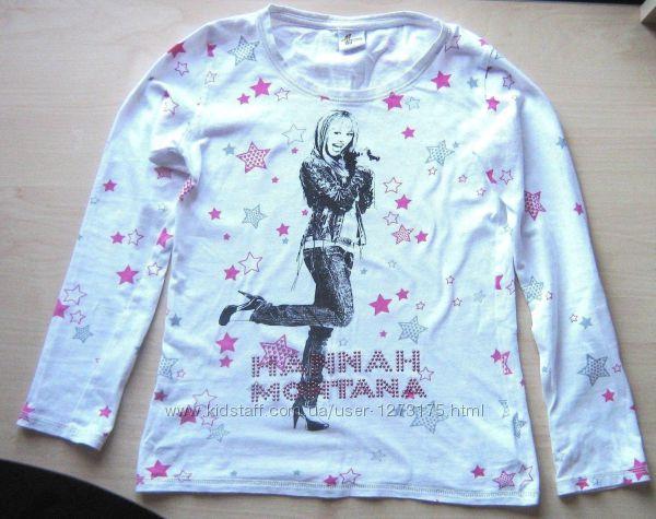 Футболка с длинными рукавами с принтом Hannah Montana  Майли Сайрус  gift
