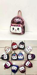 Детский рюкзак с пайетками Китти для девочки