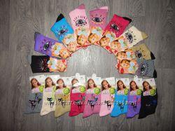 Носки подростковые для девочки 32-37рр хлопок