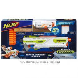 Nerf Бластер с камерой  Беттлскаут nerf Modulus recon battlescout B1756