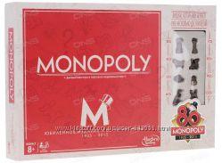 Настольная игра Hasbro Монополия Юбилейный Выпуск 80 лет