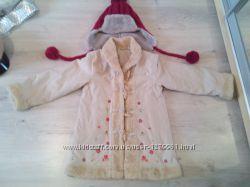 фирменная куртка для девочки .