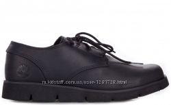 Кожаные туфли мокасины timberland 35 36