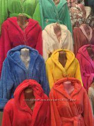Турецкие махровые халаты 500 все размеры