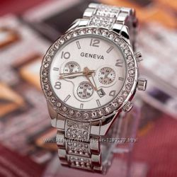 Часы женские Geneva rose silver