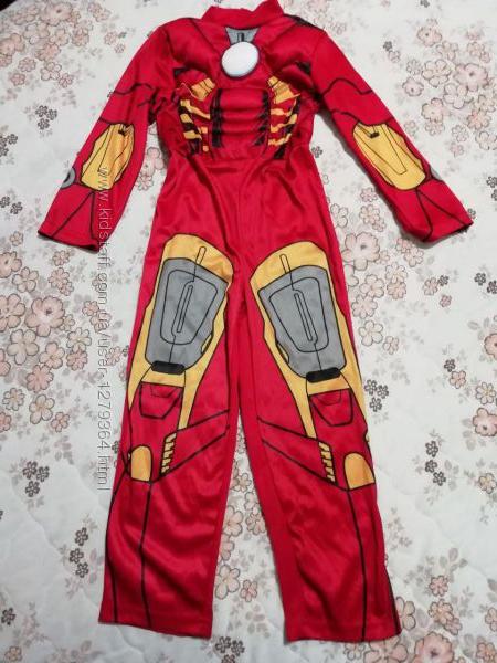 Карнавальный новогодний костюм железного человека 5-6лет