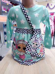 Платьице  Лол с сумочкой