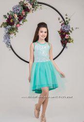 Платья для девочек с Пайетками и другие модели Размеры 122- 152