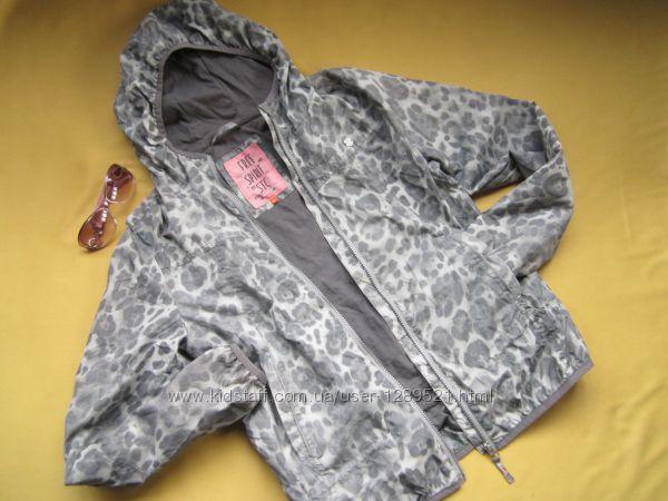 Стильная спортивная куртка ветровка с отражателями, STC, отличное состояние