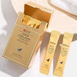 Ночная маска на основе золота и коллагена SNP Gold Collagen Sleeping Pack