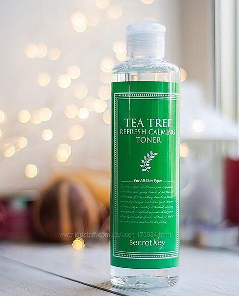Тонер с зелёным чаем Тонер Tea Tree Refresh Calming Toner