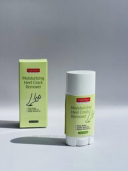 Увлажняющее средство для удаления трещин на пятках purederm moisturizing