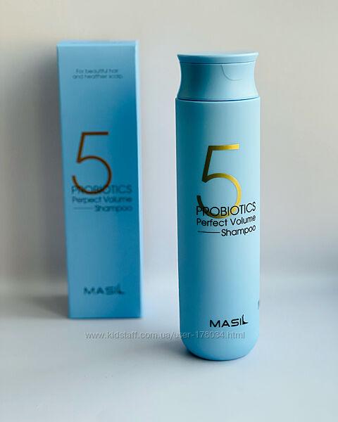 Шампунь для объема волос с пробиотиками Masil 5 Probiotics Perfect Volume