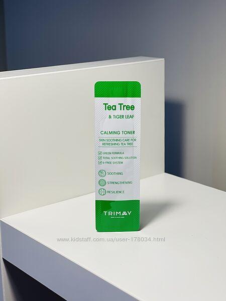 Пробник тонер с Чайным деревом и Центеллой Tea Tree & Tiger Leaf Calming
