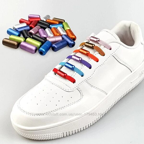 Шнурки, которые не нужно завязывать - резиновые, силиконовые, спортивные