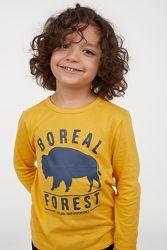 Детские трикотажные регланы на мальчика в наличии из Америки