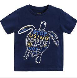 Детские футболки на мальчиков на 1, 2, 3, 4, 5 года США