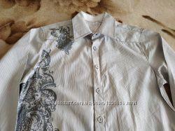 Красивая стильная мужская рубашка  из Америки, р. 170-176