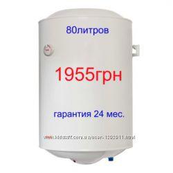 Бойлер водонагреватель Nova Tec 80 литров электрический Гарантия 2года