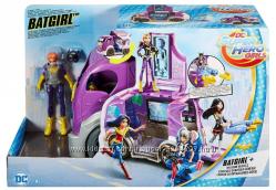 Super Hero Girls Супер герои фургон Бетгёрл раскладной Batgirl Vehicle