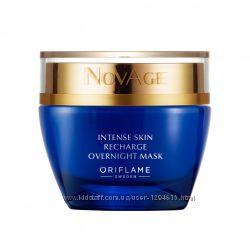 Ночная интенсивная восстанавливающая маска для лица NovAge Oriflame 33490