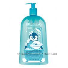 Очищающий гель для лица, тела и волос Bioderma ABCDerm Gel Moussant 1 литр