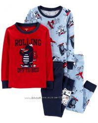 Carters Комплект пижам хлопок для мальчика 3Т