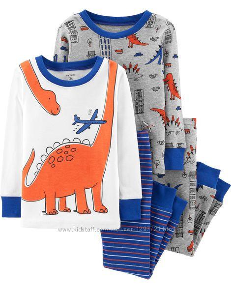 Carters Комплект пижам хлопок для мальчика 2Т