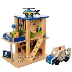 Полицейский участок, конструктор, дерево, еко Разные