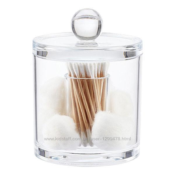 органайзери для ватних дисків і вушних паличок